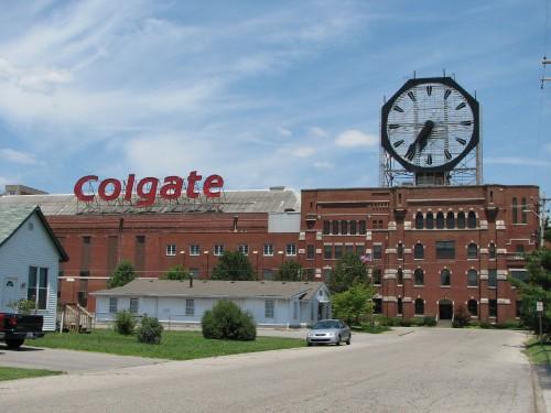 Falls Colgate Clock