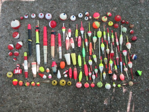 bobber collection display