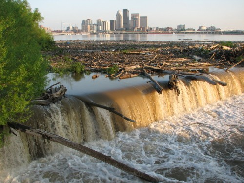rising river, 5/09