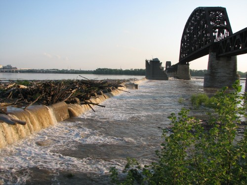 rising river 5/09