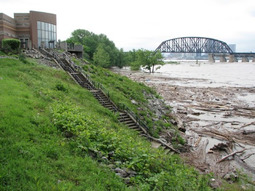 high water and interpretive center, 5/09