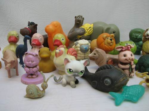 Critter Collection, detail, 5/09
