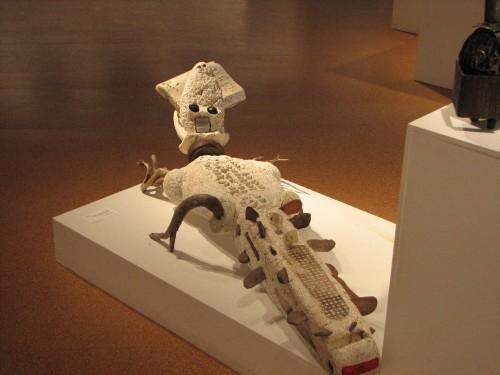 Kingsolver's Crocodile, on exhibit