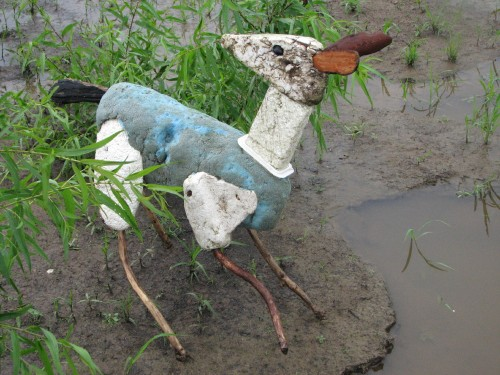 Rain Deer looking back, 7/09