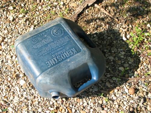 kerosene container