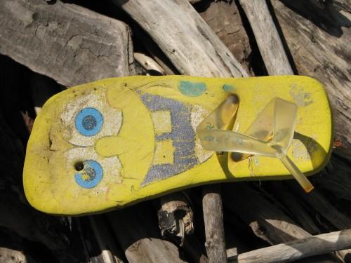 Sponge Bob flip flop