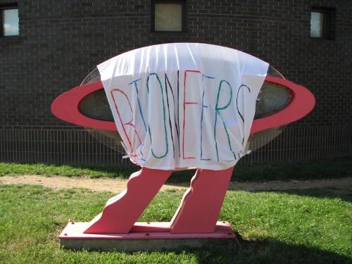 Bioneer sign, 10/09