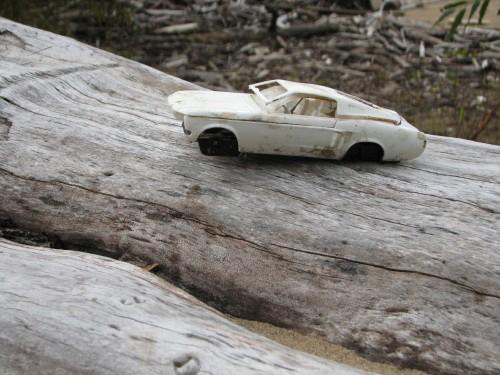 plastic model car, 10/09