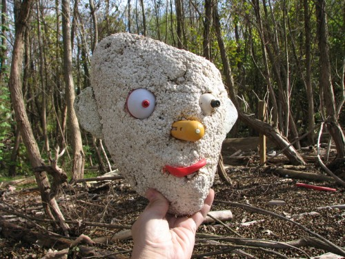 Watchful Willie's head, 10/09