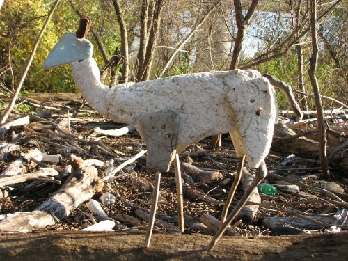 Little Deer, facing left, 11/09