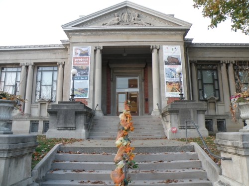 Carnegie Center for Art and History, New Albany, IN, Nov. 2012