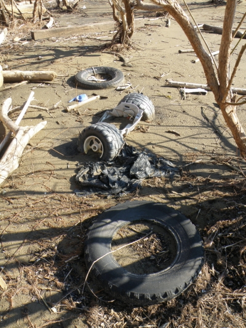 sunken tires, Feb. 2013