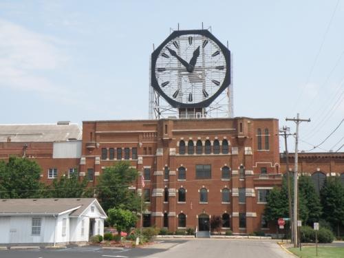 former Colgate Clock, 2012