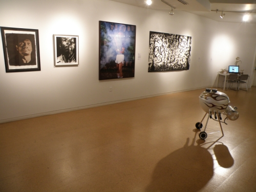 The 7 Borders, installation view, Aug. 2013