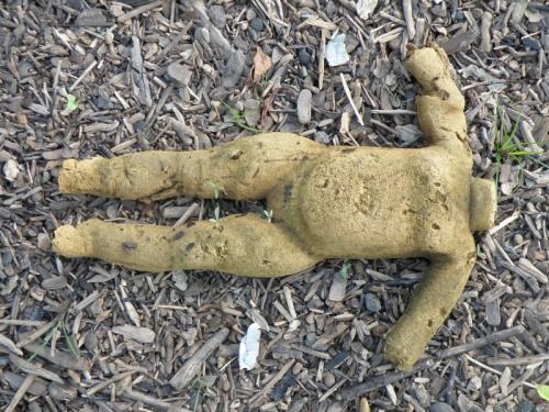 """""""rubberized"""" foam doll body, Sept. 2013"""