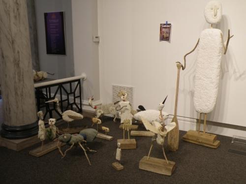 My sculptures just delivered, Jan. 2014