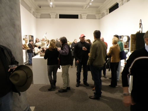 opening reception for the Potential in Everything, Jan. 2014