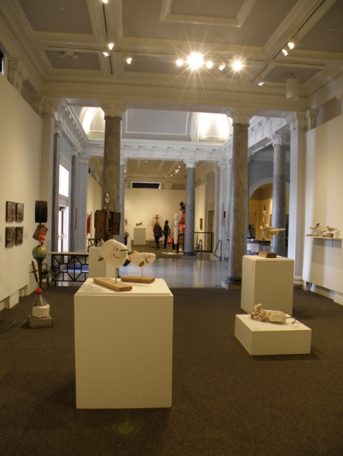 Installation view at the Carnegie Center for Art and History, Jan. 2014