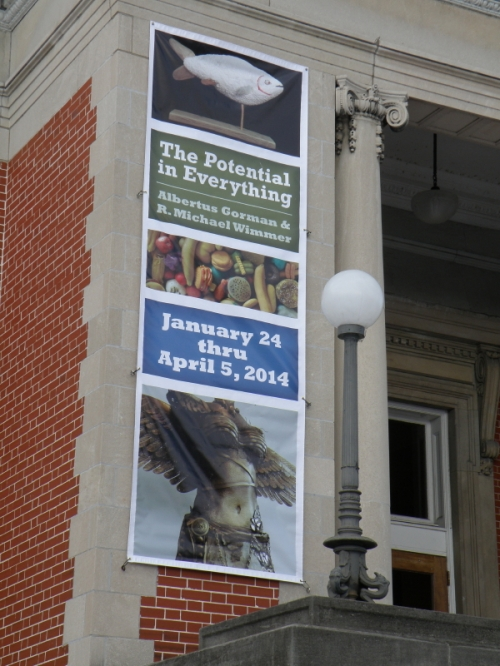 Carnegie Center for Art and History banner, Feb. 2014