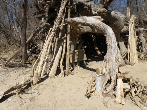 """The """"Hobo Hut"""", March 2014"""