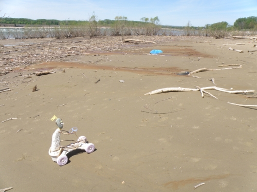 The Sand Rover, May 2014, Falls of the Ohio