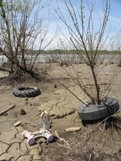 sand rover, May 2014, Falls of the Ohio