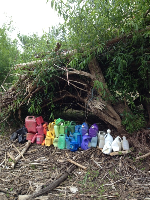"""Big Jug Rainbow"", Falls of the Ohio, June 2015"