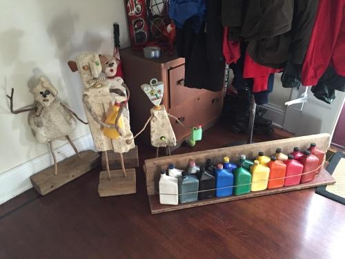 Al's art at home, Sept. 2015