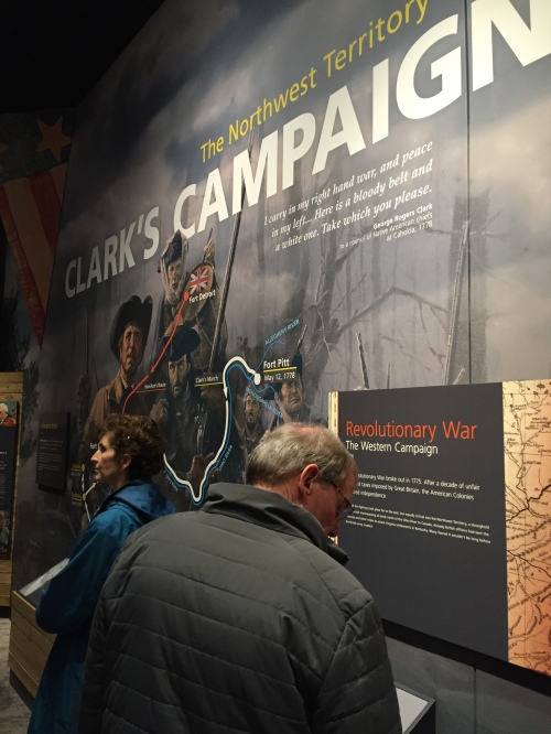 "From "" Converging Cultures"", Falls of the Ohio Interpretive Center, Jan. 8, 2016"
