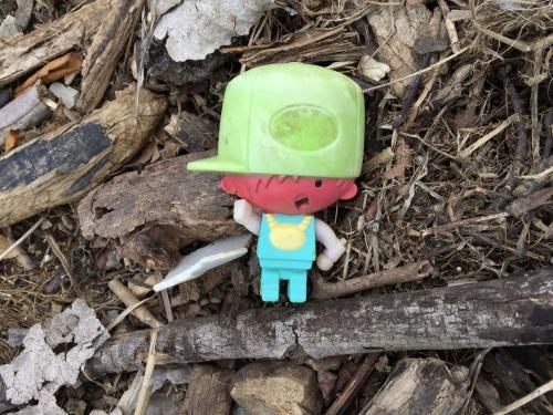 Plastic D.J. toy, March 6, 2016