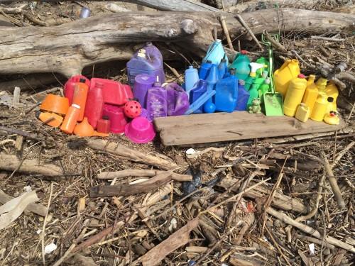 Plastic color spectrum, March 6, 2016