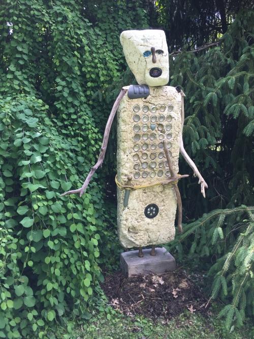Earth Knight by Albertus Gorman, at Hidden Hill, May 2016