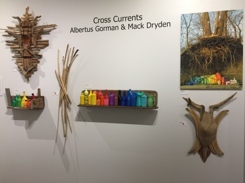 Cross Currents exhibition, Crafts and Mercantile Gallery, Louisville, KY, Feb. 2017